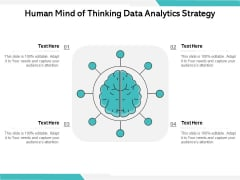 Human Mind Of Thinking Data Analytics Strategy Ppt PowerPoint Presentation Summary Graphics Download PDF