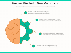 Human Mind With Gear Vector Icon Ppt PowerPoint Presentation Model Microsoft PDF