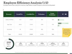 Human Resource Capability Enhancement Employee Efficiency Analysis Anne Professional PDF