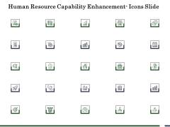 Human Resource Capability Enhancement Icons Slide Ppt Model Design Inspiration PDF