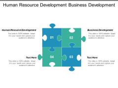 Human Resource Development Business Development Ppt PowerPoint Presentation Model Example Topics