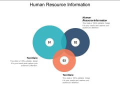 Human Resource Information Ppt PowerPoint Presentation Pictures Demonstration Cpb