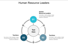 Human Resource Leaders Ppt PowerPoint Presentation Styles Templates Cpb
