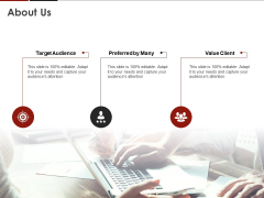 Human Resource Management About Us Ppt Icon Display PDF