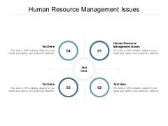 Human Resource Management Issues Ppt PowerPoint Presentation Portfolio Slide Portrait