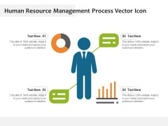 Human Resource Management Process Vector Icon Ppt PowerPoint Presentation Styles Good PDF