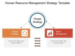 Human Resource Management Strategy Template Ppt PowerPoint Presentation Portfolio Influencers PDF