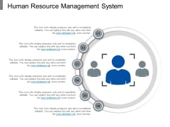 Human Resource Management System Ppt PowerPoint Presentation Styles Slides