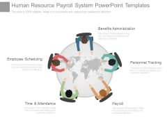 Human Resource Payroll System Powerpoint Templates