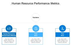Human Resource Performance Metrics Ppt PowerPoint Presentation Inspiration Layout Cpb