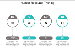 Human Resource Training Ppt PowerPoint Presentation Summary Visual Aids Cpb