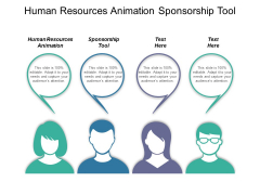 Human Resources Animation Sponsorship Tool Ppt PowerPoint Presentation Show Design Templates