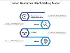 Human Resources Benchmarking Model Ppt Powerpoint Presentation Summary Aids Cpb