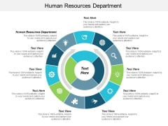 Human Resources Department Ppt PowerPoint Presentation Summary Structure Cpb