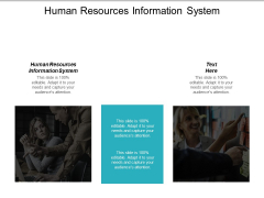 Human Resources Information System Ppt PowerPoint Presentation Summary Vector Cpb