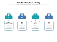 Hybrid Application Testing Ppt PowerPoint Presentation Portfolio Outfit Cpb Pdf