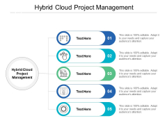 Hybrid Cloud Project Management Ppt PowerPoint Presentation Professional Topics Cpb