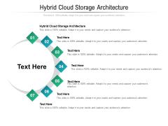 Hybrid Cloud Storage Architecture Ppt PowerPoint Presentation Ideas Portfolio Cpb Pdf