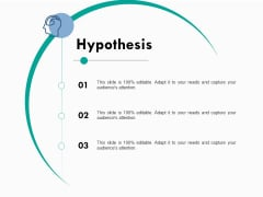 Hypothesis Ppt PowerPoint Presentation Influencers