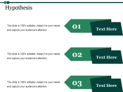 Hypothesis Ppt PowerPoint Presentation Model Guidelines