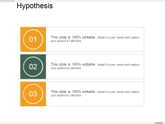 Hypothesis Ppt PowerPoint Presentation Outline Graphics Tutorials