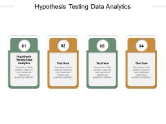Hypothesis Testing Data Analytics Ppt PowerPoint Presentation Styles Graphics Cpb Pdf