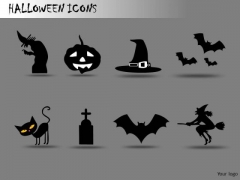 Halloween Graphics PowerPoint Clipart Slides