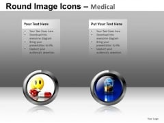 Happy Pills Medical Icons PowerPoint Templates And Ppt Slides