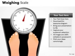 Health Weighing Scale PowerPoint Slides And Ppt Diagram Templates
