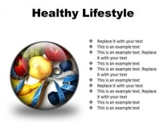 Healthy01 Lifestyle PowerPoint Presentation Slides C