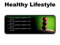 Healthy Lifestyle Food PowerPoint Presentation Slides R