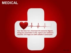 Heart Attack First Aid Medical PowerPoint Templates Editable Ppt Slides