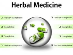 Herbal Medicines Science PowerPoint Presentation Slides C