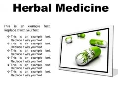 Herbal Medicines Science PowerPoint Presentation Slides F