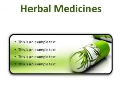 Herbal Medicines Science PowerPoint Presentation Slides R