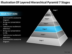Hierarchical Pyramid 7 Stages Ppt Sample Business Plans For Small PowerPoint Templates