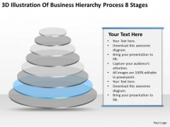 Hierarchy Process 8 Stages Help Writing Business Plan For PowerPoint Templates