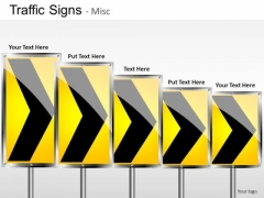 Highway Traffic Signs PowerPoint Slides And Ppt Diagram Templates