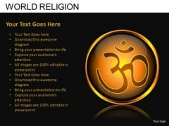 Hindu Religion PowerPoint Slides And Ppt Diagram Templates