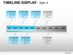 History Timeline Display PowerPoint Slides And Ppt Diagram Templates