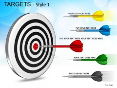 Hobbies Targets 1 PowerPoint Slides And Ppt Diagram Templates
