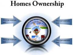 Homes Ownership Real Estate PowerPoint Presentation Slides Cc