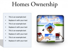 Homes Ownership Real Estate PowerPoint Presentation Slides S