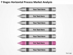 Horizontal Process Market Analysis Ppt Real Estate Investing Business Plan PowerPoint Templates