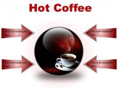 Hot Coffee Food PowerPoint Presentation Slides C