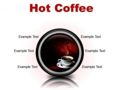 Hot Coffee Food PowerPoint Presentation Slides Cc
