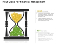 Hour Glass For Financial Management PowerPoint Templates