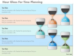 Hour Glass For Time Planning PowerPoint Template