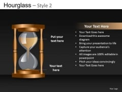 Hourglass Editable PowerPoint Background
