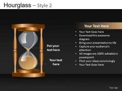 Hourglass Sand PowerPoint Ppt Slides